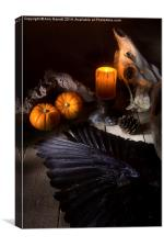Halloween is Coming, Canvas Print