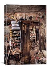 The Doorway, Canvas Print