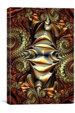 Fractal Circus, Canvas Print