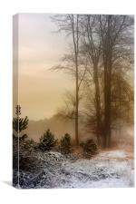 Christmas Eve in the Snow, Canvas Print