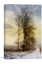 Christmas Eve in the Snow  3, Canvas Print