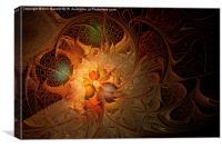 Fractal Flames, Canvas Print