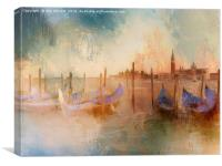 Venice Heat, Canvas Print