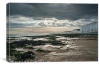The Seven Sisters, Sussex, Canvas Print