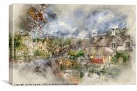 Castle Combe, Canvas Print