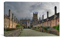Vicars Close, Wells, Canvas Print