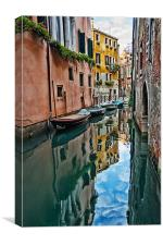 Venice Reflections, Canvas Print