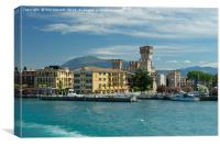 Scaliger Castle, Sirmione, Lake Garda, Italy, Canvas Print