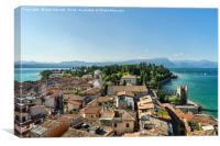 Sirmione Peninsula Lake Garda Italy, Canvas Print