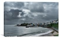 Stormy Tenby, Canvas Print