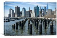 Manhattan Skyline, Canvas Print