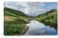 Llyn Brianne Reservoir, Canvas Print