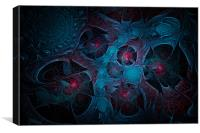 Fractal Jewels, Canvas Print