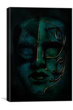 Masquerade, Canvas Print