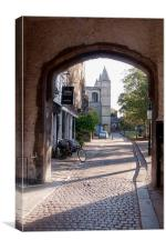 Rochester Cathedral, Canvas Print