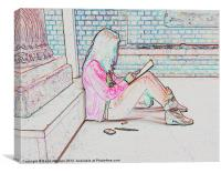THE ARTIST, Canvas Print