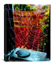 AUTUMN WEB, Canvas Print
