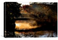 AUTUMN MIST, Canvas Print