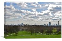 London from Primrose Hill, Canvas Print