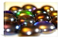 Bokeh beads, Canvas Print