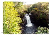 Falloch Falls Scotland, Canvas Print