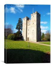 Preston Tower, Canvas Print