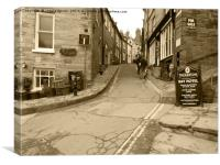 Robin hoods Bay North Yorkshire, Canvas Print