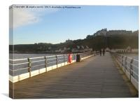 Saltburn by the Sea North Yorkshire, Canvas Print