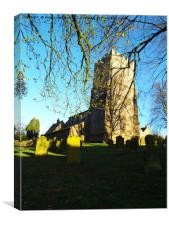 Kirby Hill North Yorkshire, Canvas Print