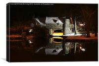 Pulls ferry Norwich, Canvas Print