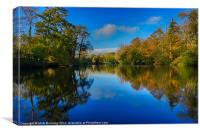 Loch Neaton in Watton, Canvas Print