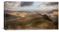 Snowdonia Mountains, Canvas Print
