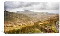 Snowdonia Mountains in Wales, Canvas Print