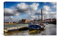 Wells next sea harbour, Canvas Print