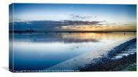 River Medway Sunrise I, Canvas Print