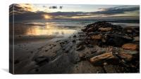 Serrambi beach Sunrise, Canvas Print
