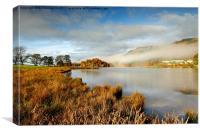 pitlochry mist, Canvas Print