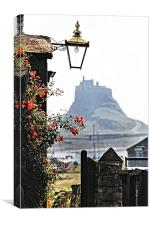 On The Way To Lindisfarne Castle, Canvas Print