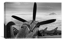 RAF old and new, Canvas Print