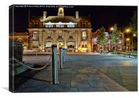 Municipal Buildings Crewe, Canvas Print