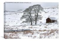Winter, Canvas Print