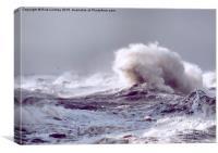 Stormy Sea, Canvas Print