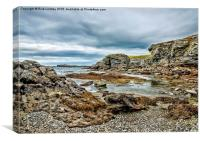 Trearddur Bay, Canvas Print