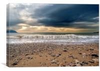 Approaching Storm, Canvas Print