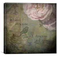 When I Dream, Canvas Print