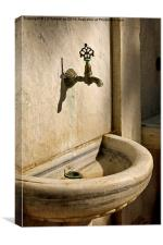 The Tap, Canvas Print