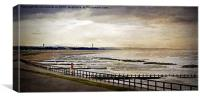 Aberdeen Beach, Canvas Print