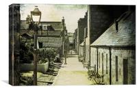 Footdee or Fittie, Canvas Print