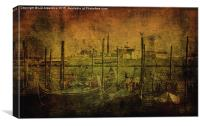 Vintage Venice, Canvas Print