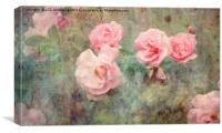 Romance and Roses, Canvas Print